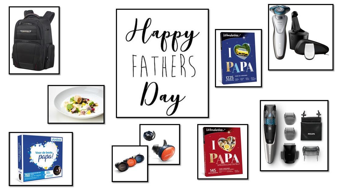 Een geslaagde Vaderdag voor elke papa!