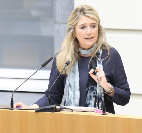 Mercedes Van Volcem<br/>Commissievoorzitter<br/>Voorzitter Commissie voor Bestuurszaken, Binnenlands Bestuur, Inburgering en Stedenbeleid