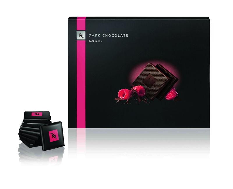 Dark Chocolate Raspberry Squares (Limited Edition) - 7,50€