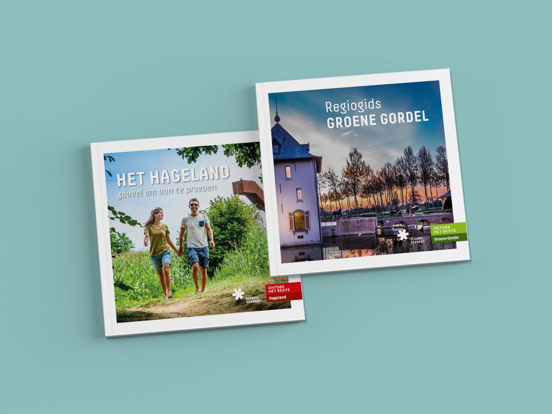 Nieuwe regiogidsen zetten toeristische troeven Groene Gordel en Hageland in de kijker