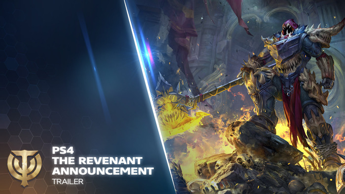 THE REVENANT HAS AN AXE TO GRIND WITH THE INVADERS OF SKYFORGE