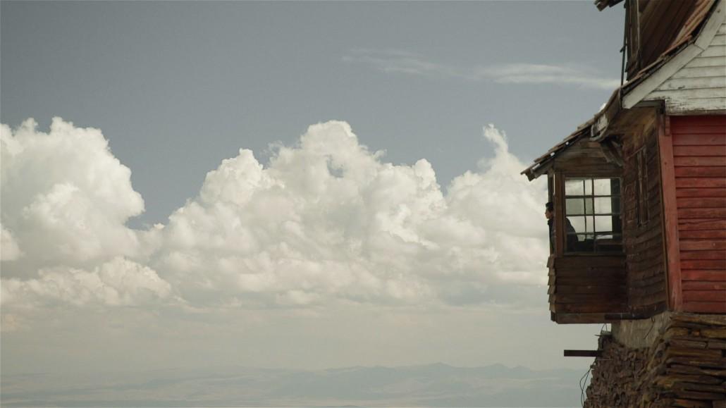 Samuel in de wolken: de skihut - (c) Clin d'oeil