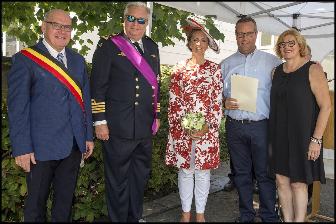 "Koninklijke vzw Wielerclub ""Denderclub"" uit Ninove, voorzitter Pascal Carael"