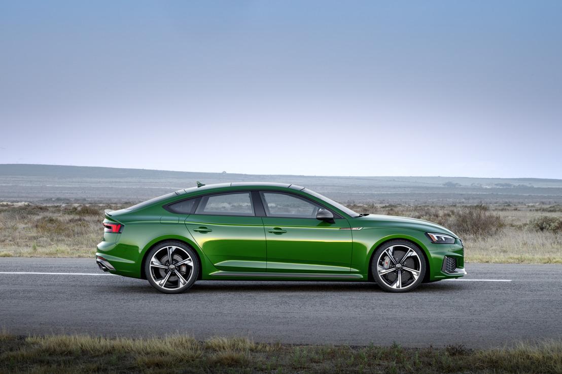 Verleidelijk design en prestaties van de bovenste plank: de nieuwe Audi RS 5 Sportback