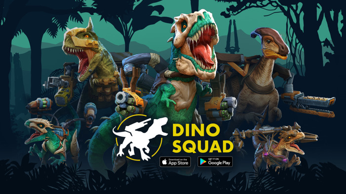'DINO SQUAD' ROARS INTO ACTION, BETA NOW AVAILABLE WORLDWIDE ON IOS AND ANDROID