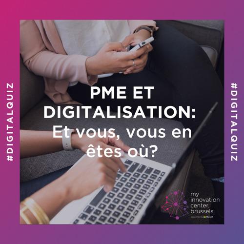 mic.brussels lance un quiz pour les PME bruxelloises afin de soutenir leur digitalisation