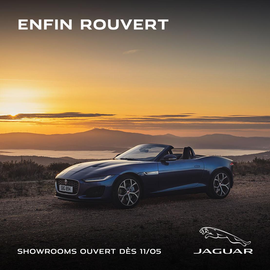 Les concessionnaires Jaguar Land Rover reprennent leurs activités commerciales après la réglementation COVID-19 assouplie