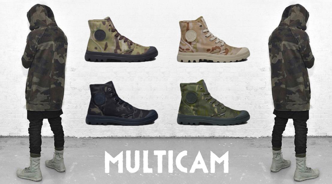 Palladium présente: Multicam & Heritage Pack