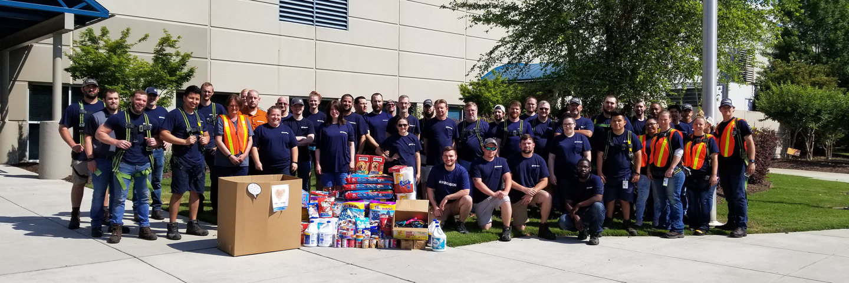 Ferguson celebrates Feed the Need by honoring associates' giving spirit