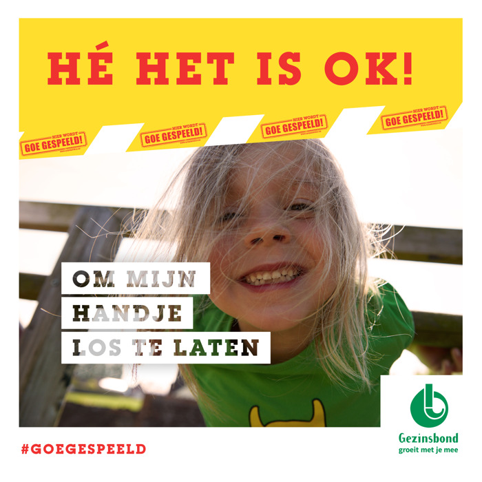 "Goe Gespeeld! lanceert campagne rond risicovol spelen: ""Hé, het is ok!"""