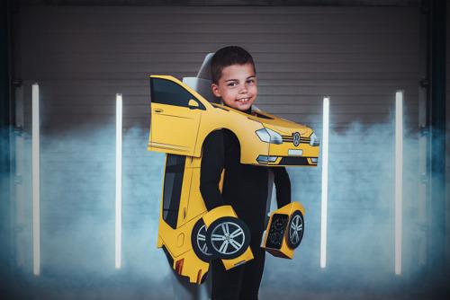 Volkswagen steelt show op kinderfeestje