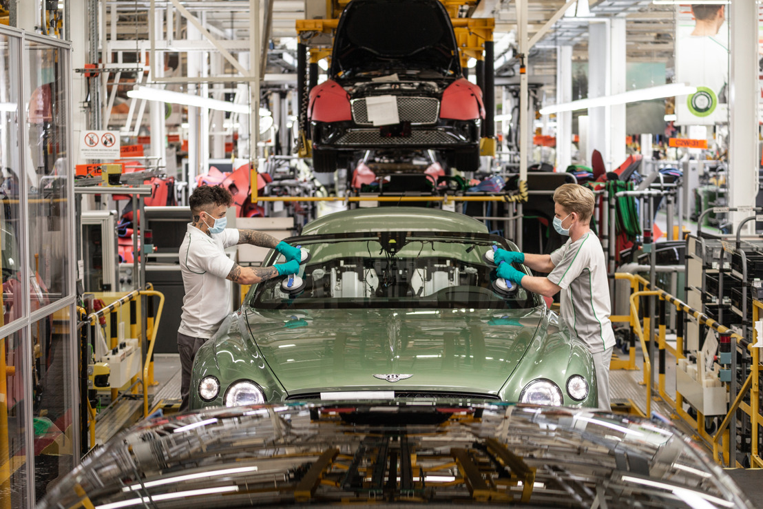 BENTLEY MOTORS COMMITS TO 'COME BACK STRONGER' - OUTLINES CHANGES TO LUXURY CAR PRODUCTION