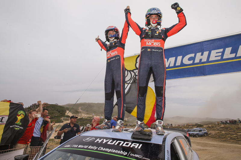Thierry Neuville & Nicolas Gilsoul