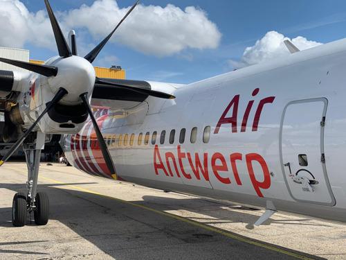 Air Antwerp neemt eerste vliegtuig in ontvangst