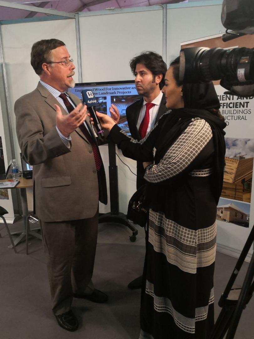 Media at The Big 5 Saudi 2018
