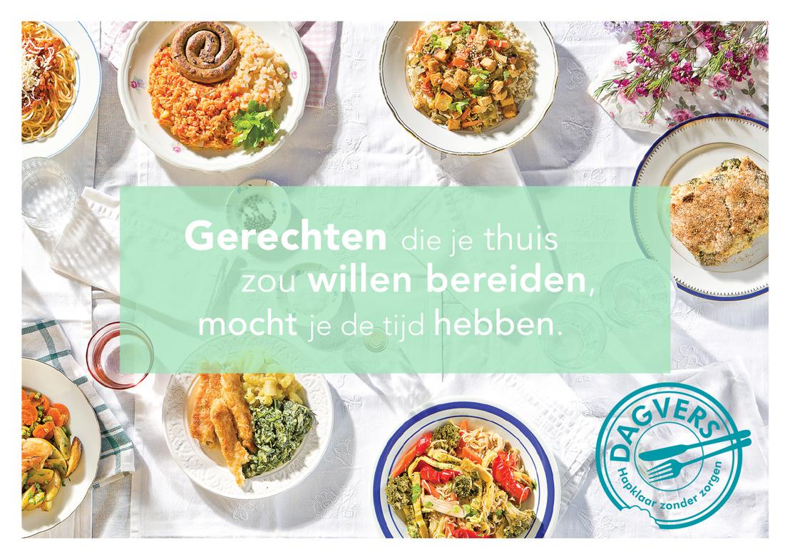 Dagvers lanceert online bestelplatform voor gezonde bereide maaltijden