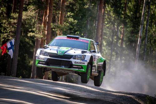 Rally Sweden: ŠKODA Motorsport's Kalle Rovanperä chases lead in WRC 2 Pro category
