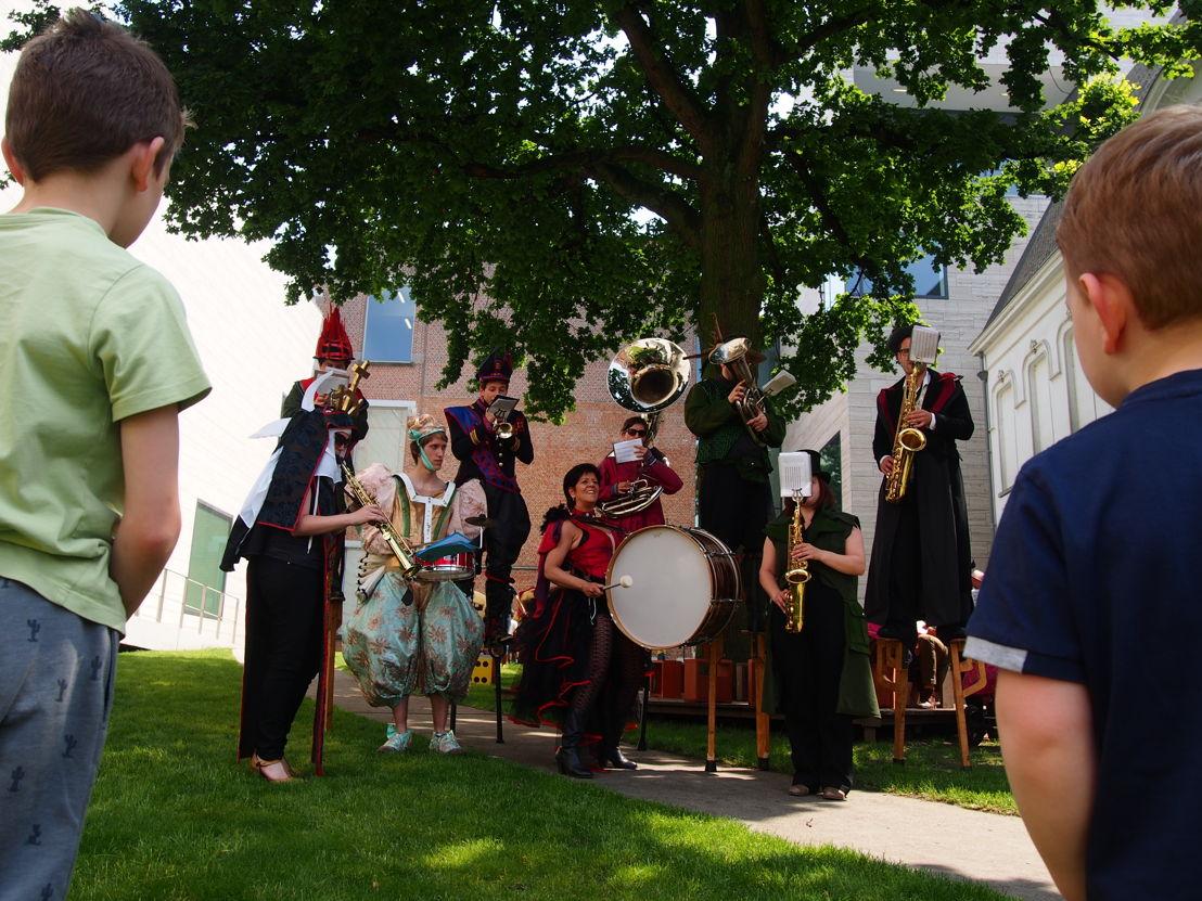 Big Band | Start zomerprogramma in de Museumspelstraat (c) Andy Merregaert