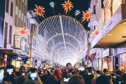 Extra spectaculaire lichtshow vervangt eindejaarsvuurwerk in Oostende