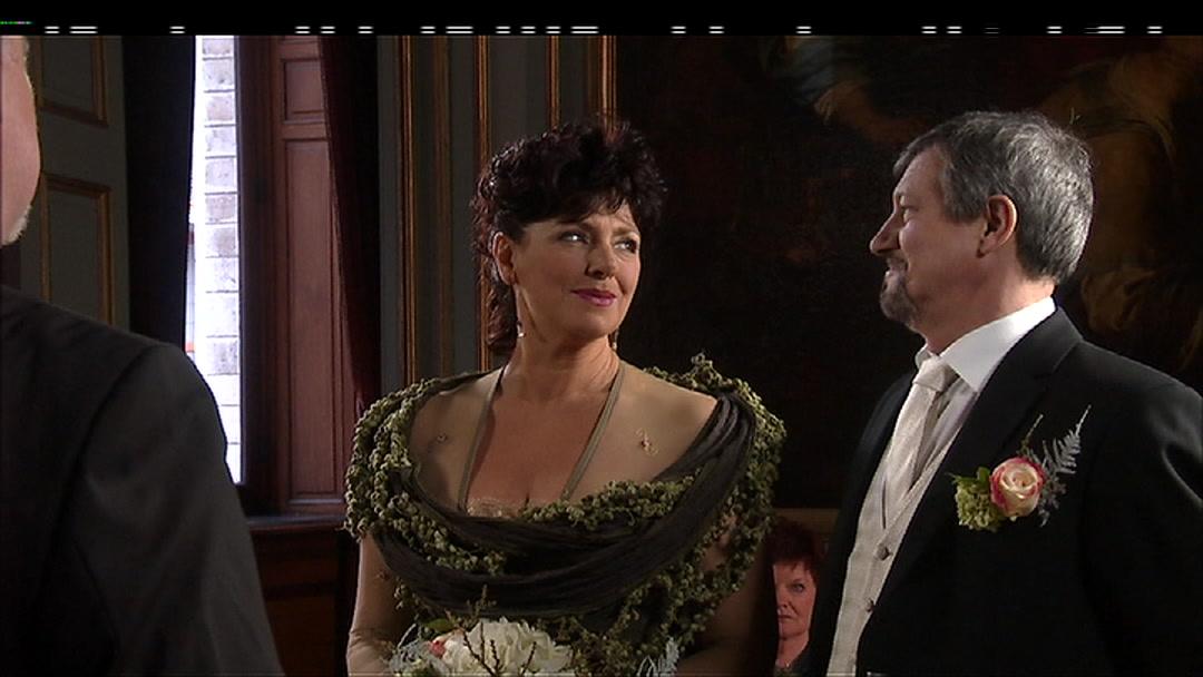 Bijna-huwelijk Rosa en Luc