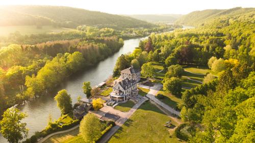 Driesterren-ecohotel 'Les Sorbiers' blaast ex-vakantiedomein van familie Boël nieuw leven in