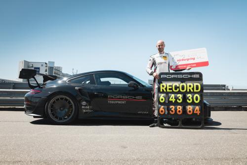 Porsche sets new lap record at 6:43.300 minutes