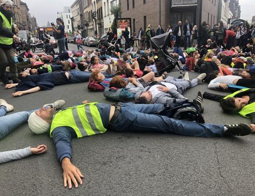 Heroes for Zero verzamelt burgeractivisten voor verkeersveiligheid in heel Brussel