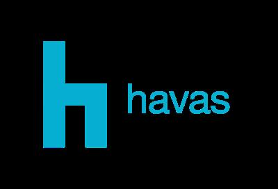 Havas Prague tisková konferenční místnost Logo