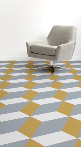 Neo-Futurism Flooring For A Space-Age Style