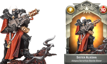 Preview: Long-awaited Sisters of Battle debut in Warhammer Combat Cards