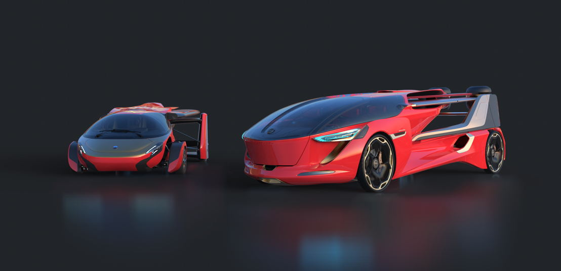 "AeroMobil 4.0 and 5.0 ""Sky Dragon"" concepts"