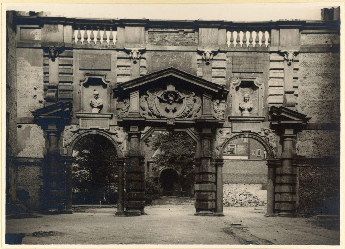 Het Rubenshuis tijdens de restauratie van het museum 2