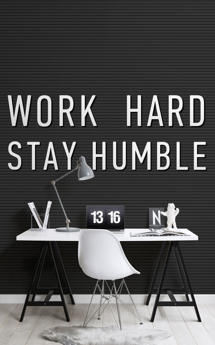 Work Hard Stay Humble Motivational Wallpaper
