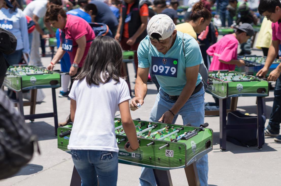 México rompe Récord Guinness Mundial en futbolito de mesa