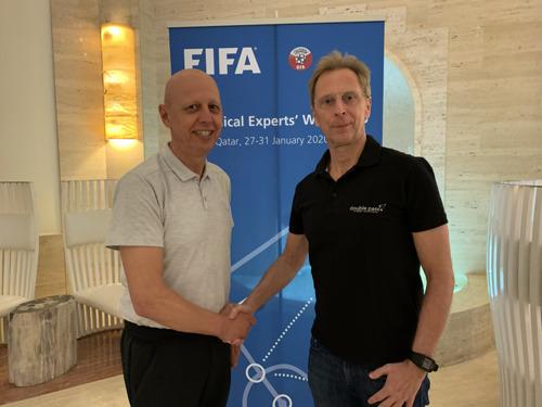 Double pass gaat samenwerken met FIFA