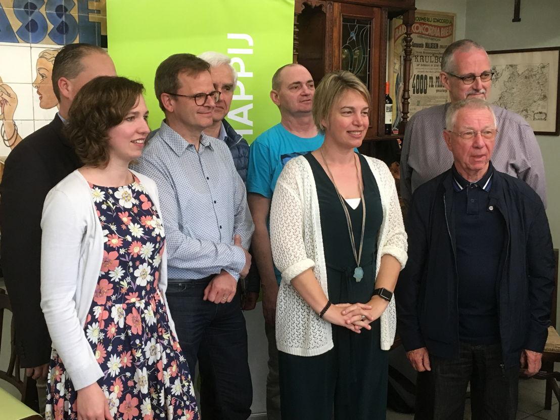 dorpsraad Viane met Vlaams minister Joke Schauvliege