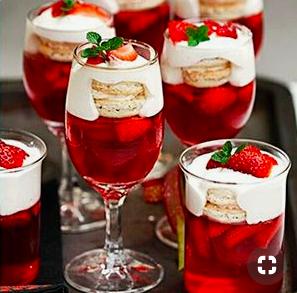Cocteles caseros con y sin alcohol para esta época de festividades.