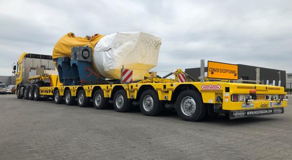 Preview: Vier Nooteboom Manoovr semidiepladers voor Ter Linden Transport