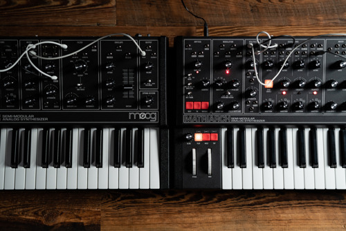 New Design for Moog's Semi-Modular Keyboard Synthesizers Harkens Back to the Classics
