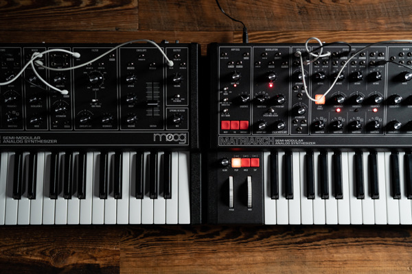 Preview: New Design for Moog's Semi-Modular Keyboard Synthesizers Harkens Back to the Classics