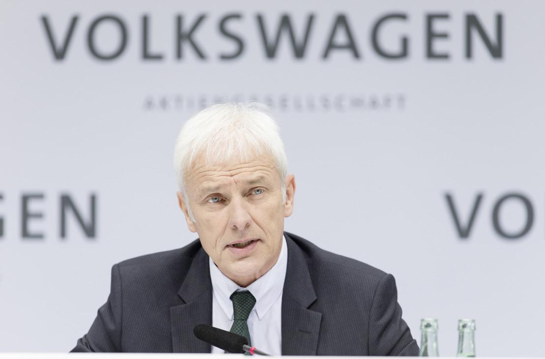 Volkswagen-Groep investeert zwaar in elektrische mobiliteit