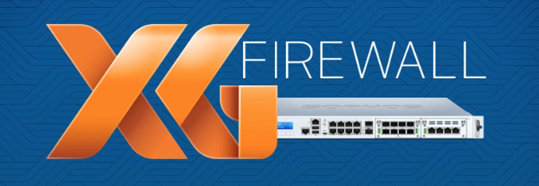 Sophos XG Firewall beschikbaar via Sophos Central