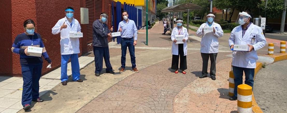 Be The Match® México dona 20,000 kits para la detección de COVID-19 a más de 10 instituciones médicas en México