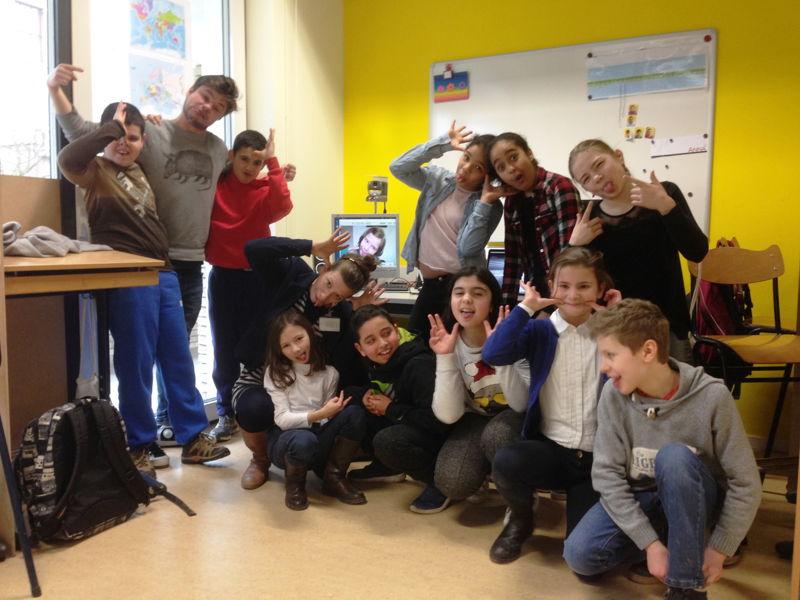Lenie en haar klas - (c) VRT