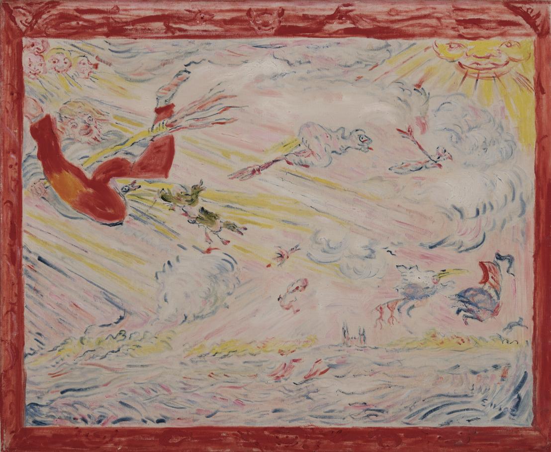Samuel Vanhoegaerden présente une collection extraordinaire d'œuvres de James Ensor à la BRAFA