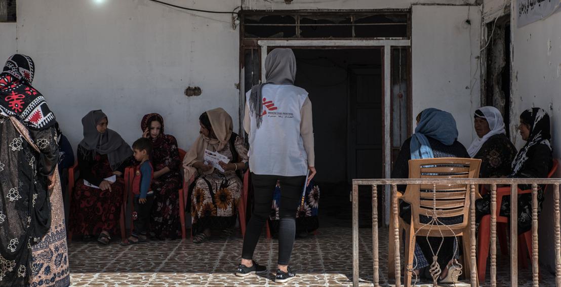 MSF met en garde contre une crise de santé mentale pour les Yézidis en Irak