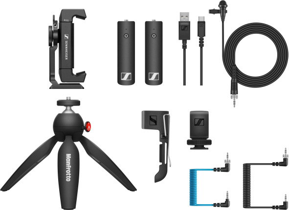 The XSW-D Portable Lav Mobile Kit with the new XSW-D Mobile cable