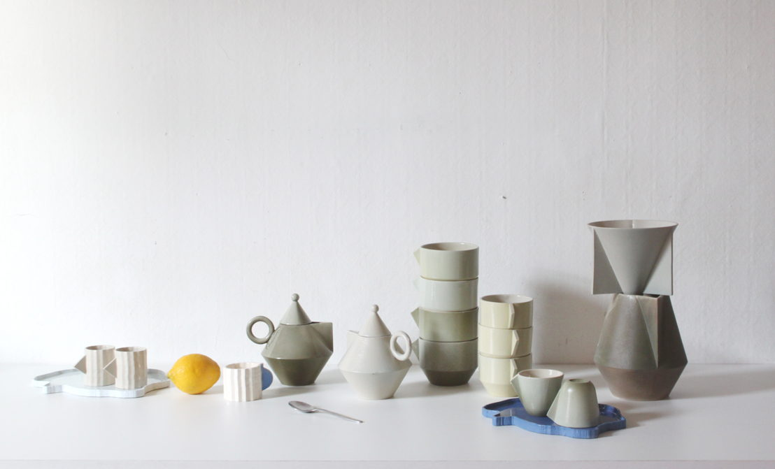La Gadoue, tableware. Design: La Gadoue. Photo: Audrey Werthle.
