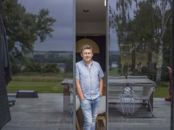 Rudi Vranckx in Het huis (c) VRT / Polle Van Rooy