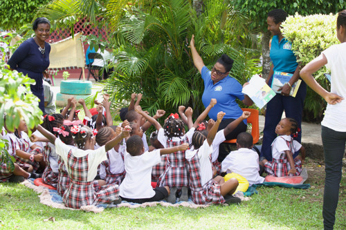 OECS/USAID Early Learners Programme: Changing lives and improving the reading levels of children in the OECS!